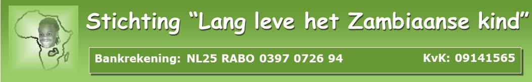 """Stichting """"Lang leve het Zambiaanse kind"""""""
