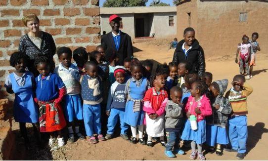 Dankwoord uit Zambia